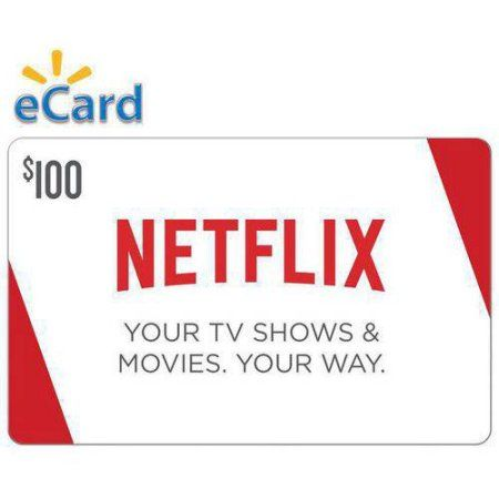 Netflix $100 Gift Card (Email Delivery) | Delivery, Netflix and Cards