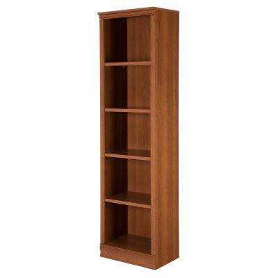 South Shore Axess 5 Shelf Narrow Bookcase - 10143