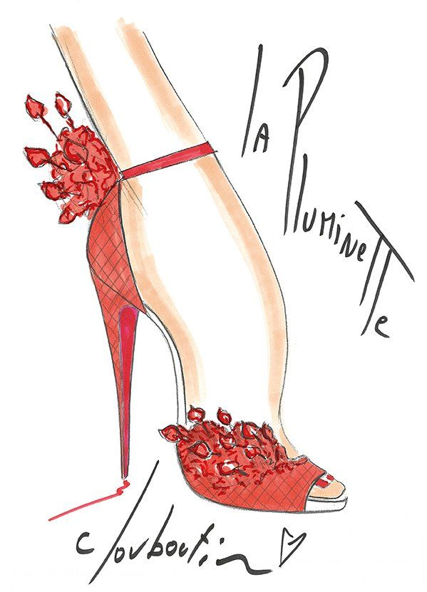 Pluminette - C.Louboutine