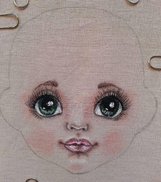 Ткани и шерсть для игрушек,кукол Тильд и др. #dollfacepainting Ткани и шерсть для игрушек,кукол Тильд и др. #dollfacepainting