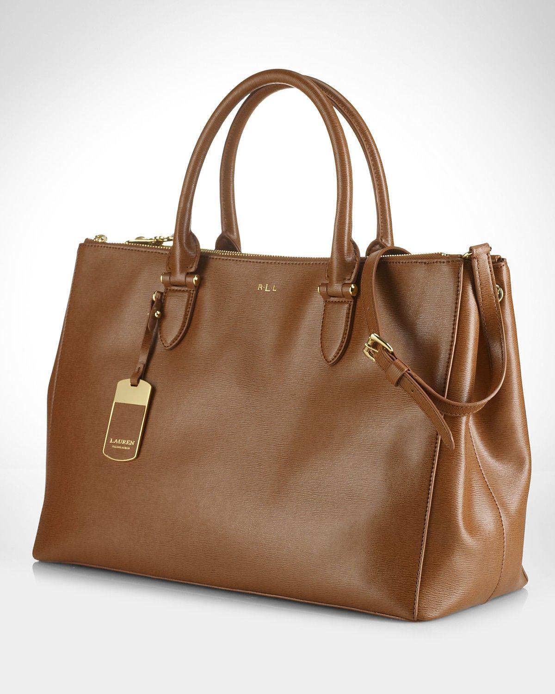 9a764e5b74 Lauren Ralph Lauren Satchel - Newbury Double Zip | Bloomingdale's ...