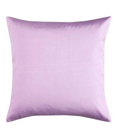 Product Detail   H DE Light purple pillow case