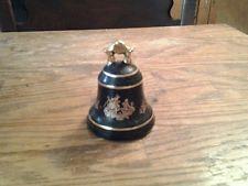 Limoges Castel Bell Cobalt Blue Porcelain France 22K Gold/Lover's