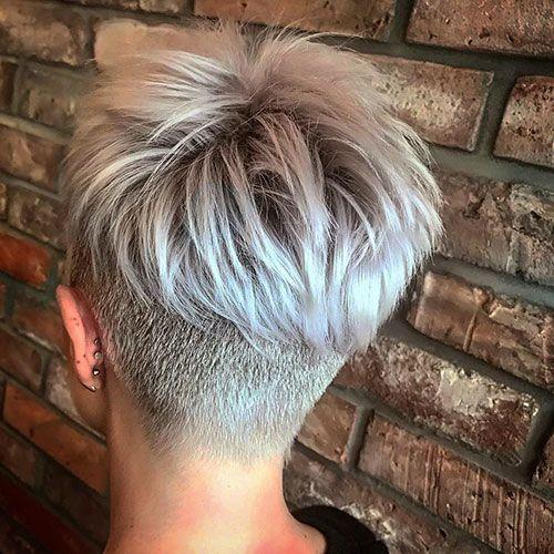 100+ Beliebte Kurze Haarschnitte 2019 - 2019 - Attraktive Frisuren #pixiehairstyles