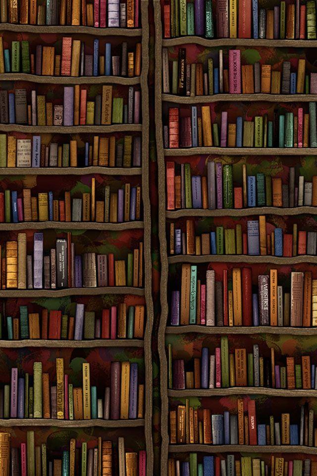 Books Wallpaper Looks Like