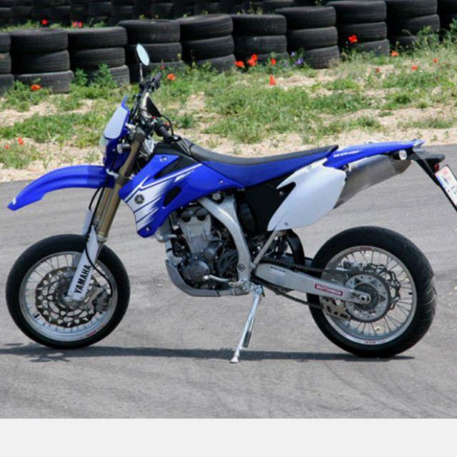 Yamaha Wr450 Supermoto Supermoto Enduro Motorcycle Motorcycle Bike