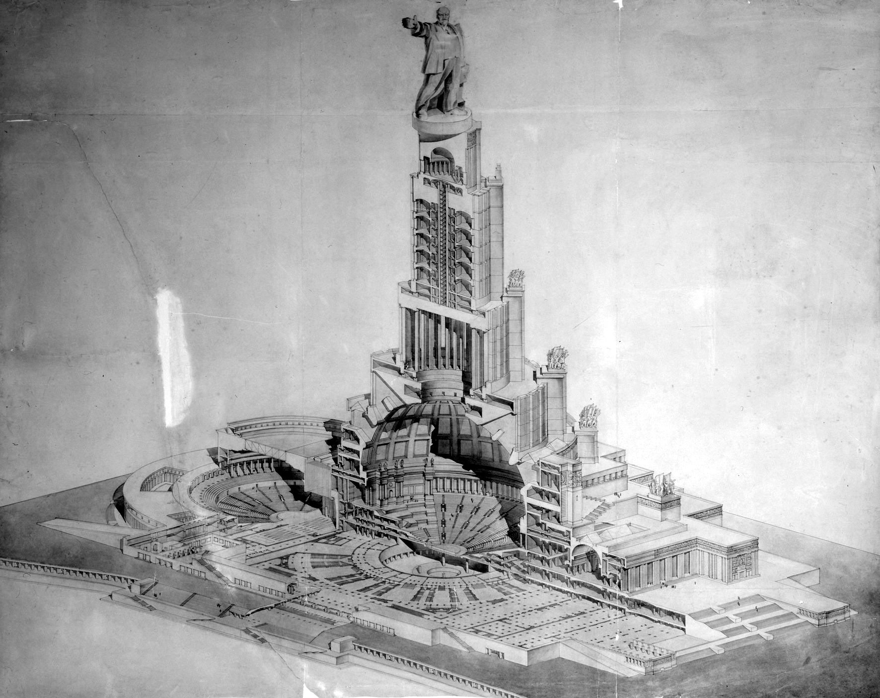 The Palace of Soviets - the utopian project of the USSR 56