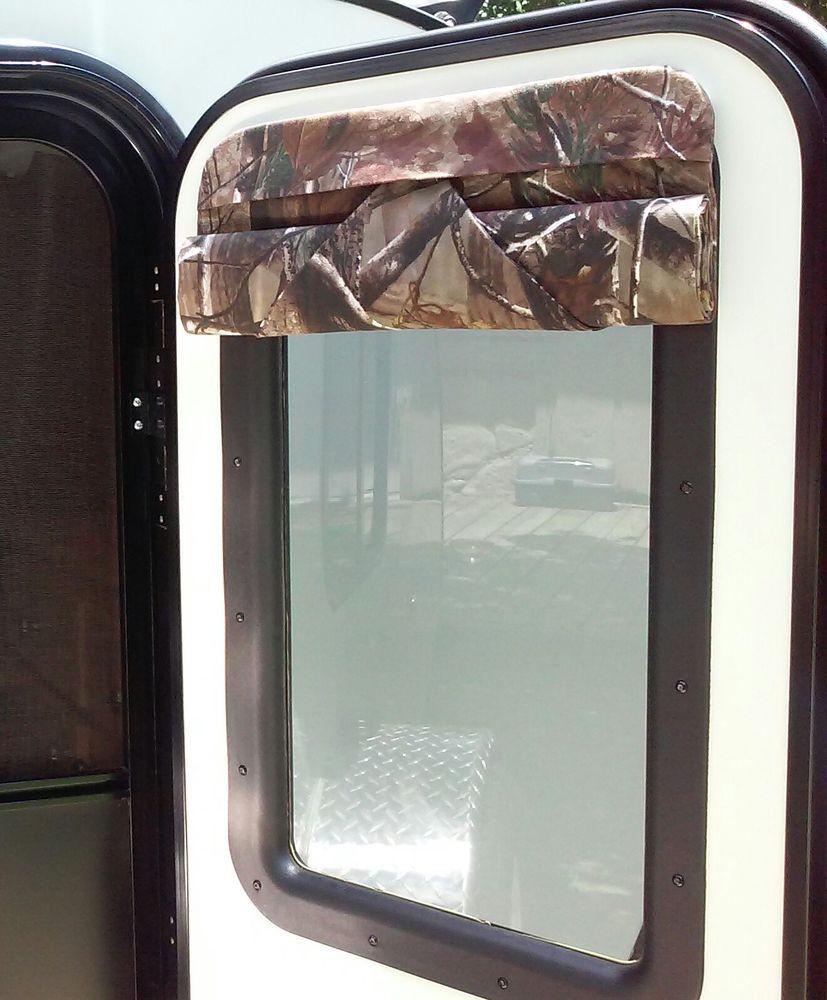 16 X 24 Camper Door Window Shade Blind Rv Teardrop Trailer Realtree Shades Blinds Window Shades Windows And Doors