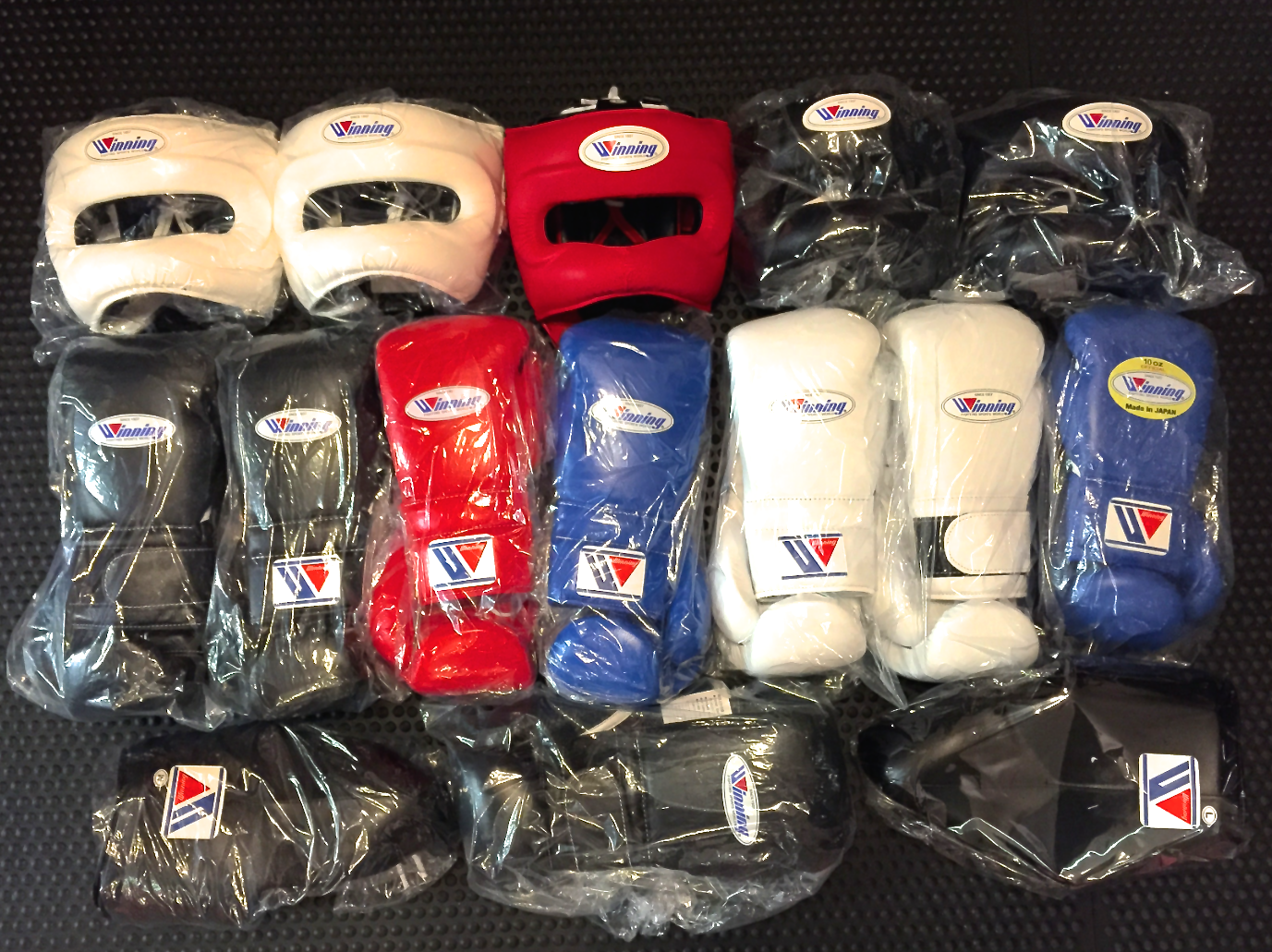 Winning Stock Delivery Check Out All The Items In The Link Below Http Www Geezersboxing Co Uk Catalogsearch Re Winning Boxing Mma Equipment Mma Training