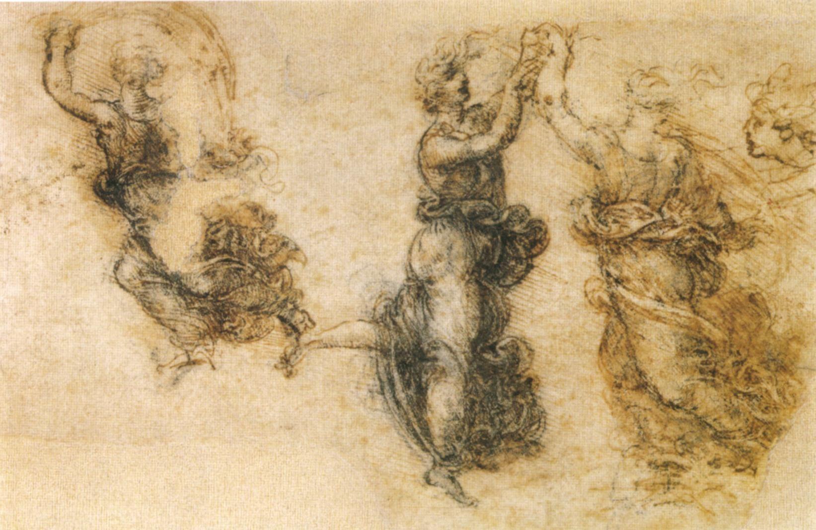 Leonardo Da Vinci Ohr Abgeschnitten   Art History - Meno Istorija ...