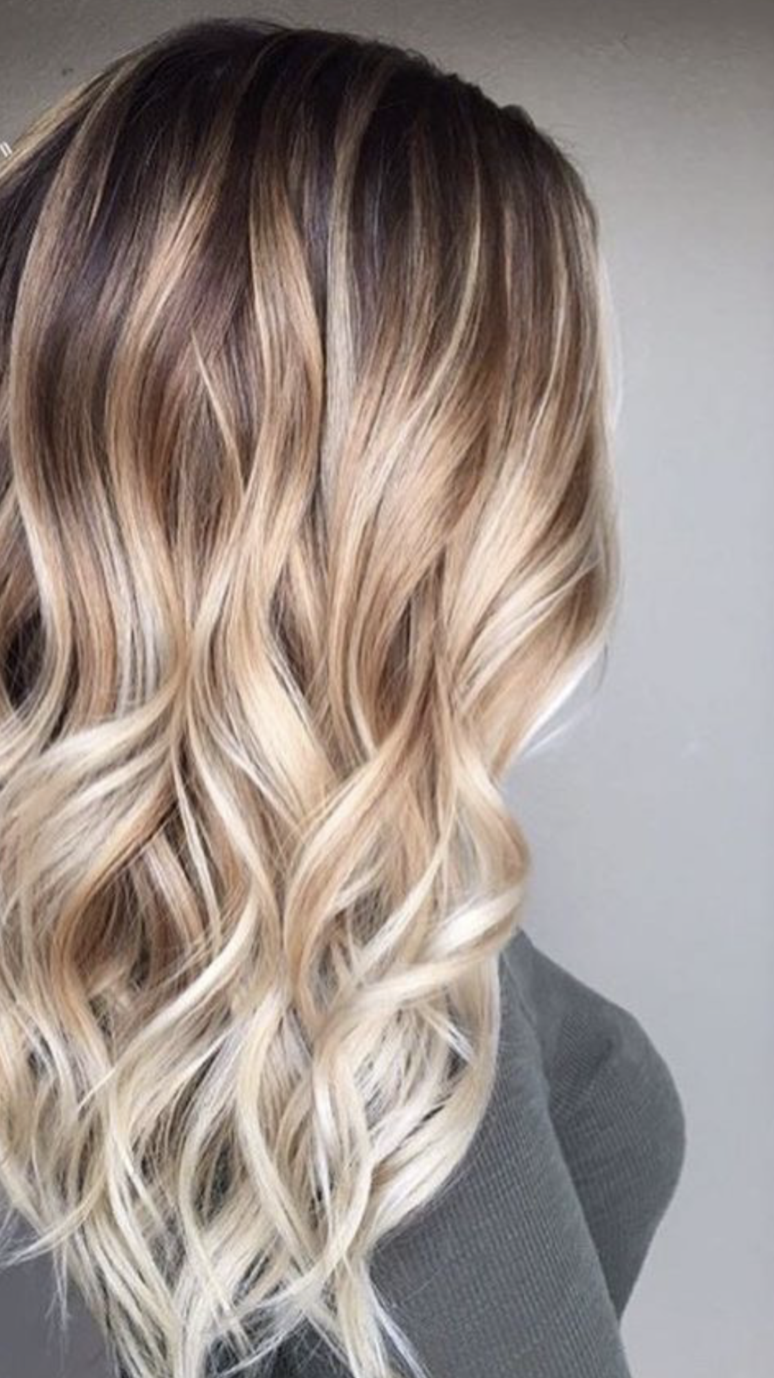 soft sombre using three shades of blonde | color me