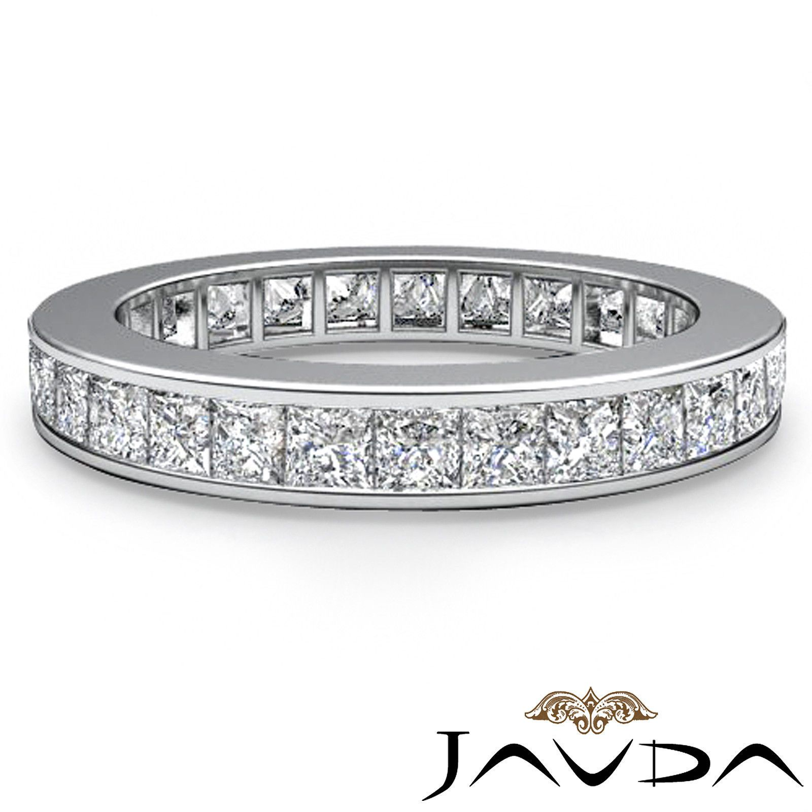 princess perfect eternity just band channel white tw lovely awesome of bands cut gold wedding diamond in platinum