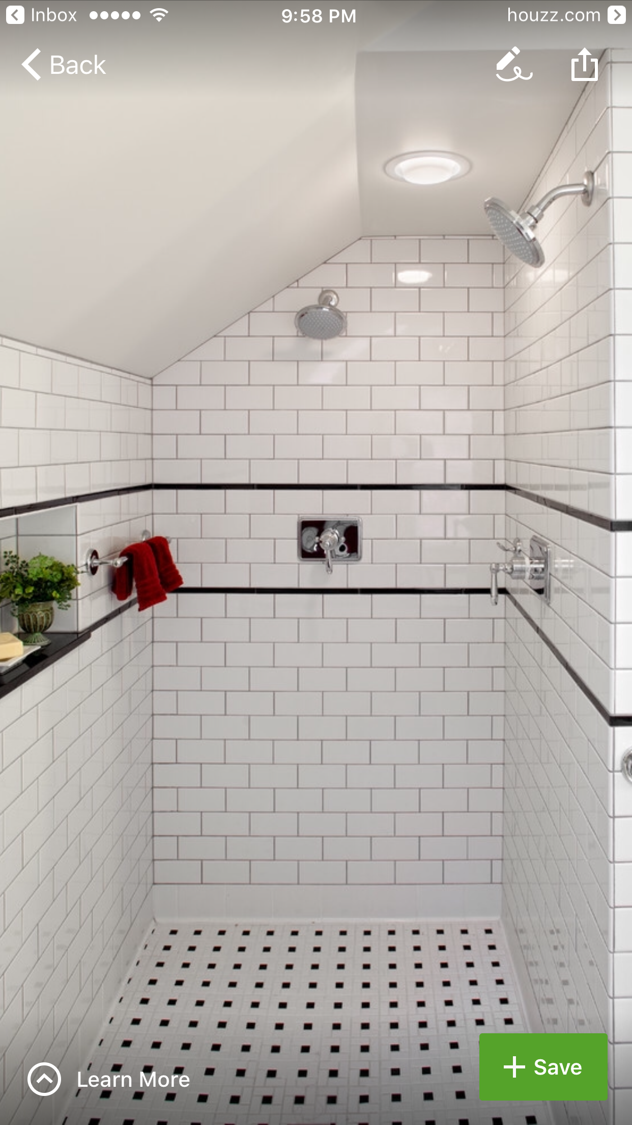 Very clean and neat, timeless look! | Banyo | Pinterest | Bath, Bath ...