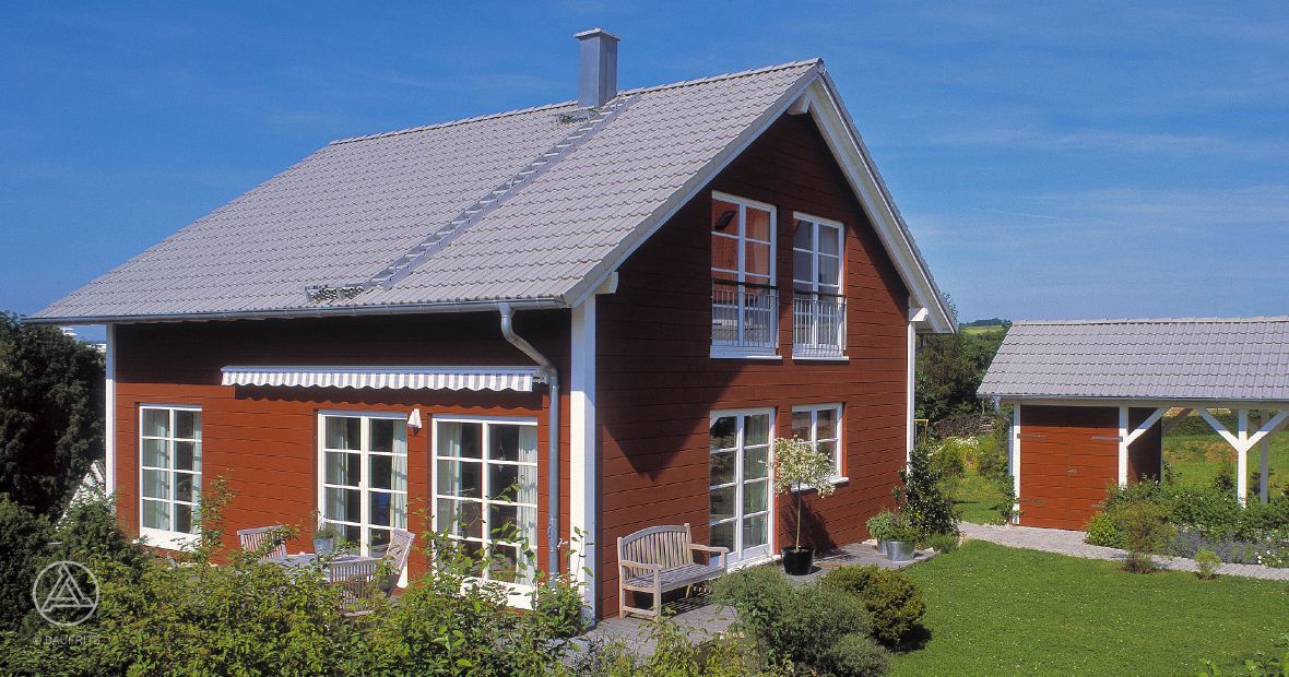 Schwedenhaus blau  Schwedenhaus Schwedenhaus Eder | Minihaus | Pinterest ...