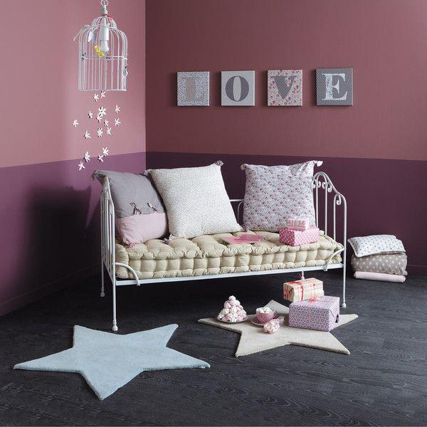 3 coussins matelas en coton maison coussin matelas. Black Bedroom Furniture Sets. Home Design Ideas
