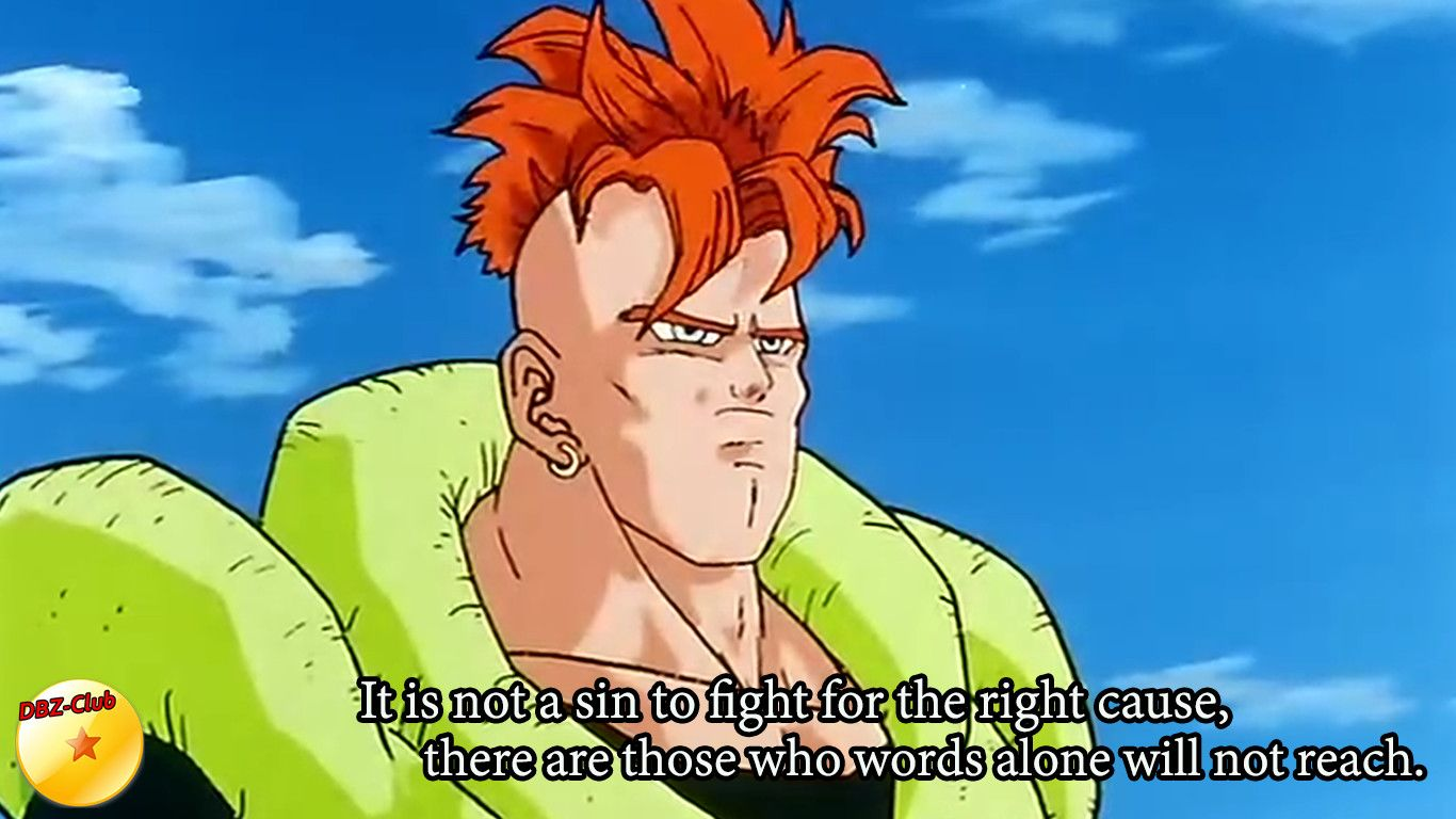 Android 16 Knows Dragon Ball Dbz Memes Dbz