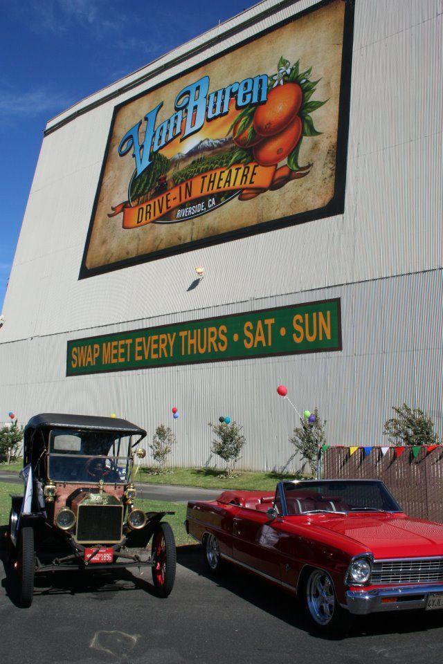 City Of Riverside Ca Van Buren Drive In