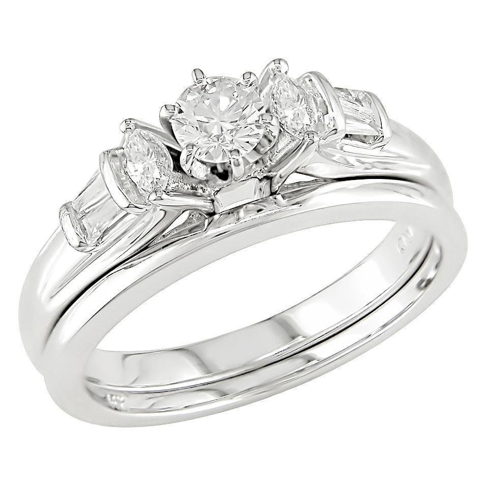 nice white gold wedding rings for her | Wedding Ideas | Pinterest ...