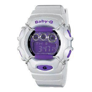 Casio Women's BG1006SA-8CR Baby-G Silver and Purple Digital Sport Watch. http://todaydeals.me/viewdetail.php?asin=B003URUMOO