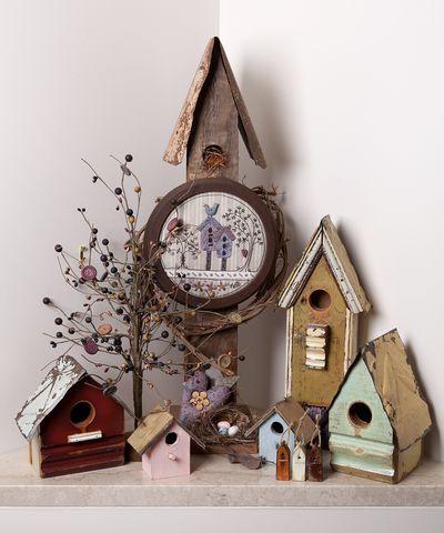 Birdhouse grupo Flor de tiro