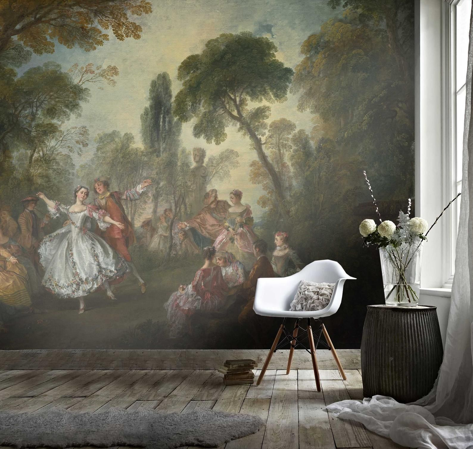 Bamboo Wall Mural Removable Wallpaper From Print4one Easy To Apply Peel Stick Full Wall Covering High Def Bamboo Wall Decorating Solutions Mural Wallpaper