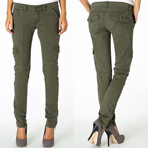 The 10 Best Olive Skinny Cargo Pants for $60 or Less | Skinny ...