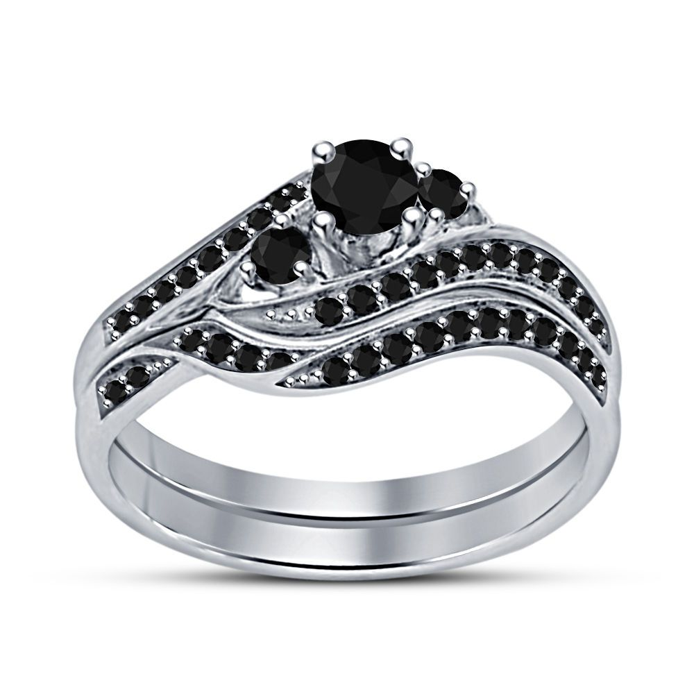38+ Womens silver wedding bands with diamonds ideas in 2021