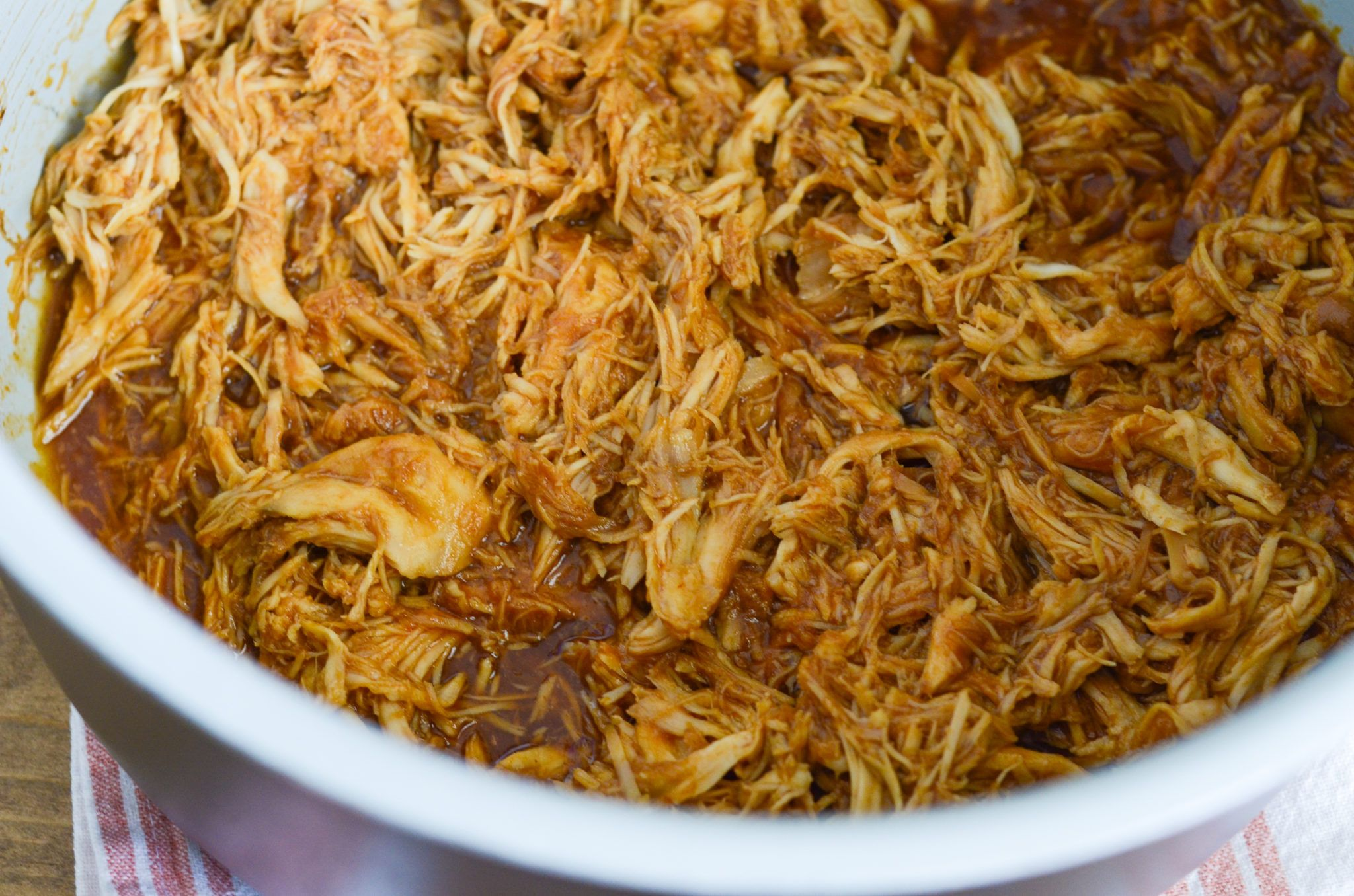Ninja Foodi Slow Cooker Bbq Chicken Recipe Slow Cooker Bbq Chicken Chicken Slow Cooker Recipes Slow Cooker Shredded Chicken