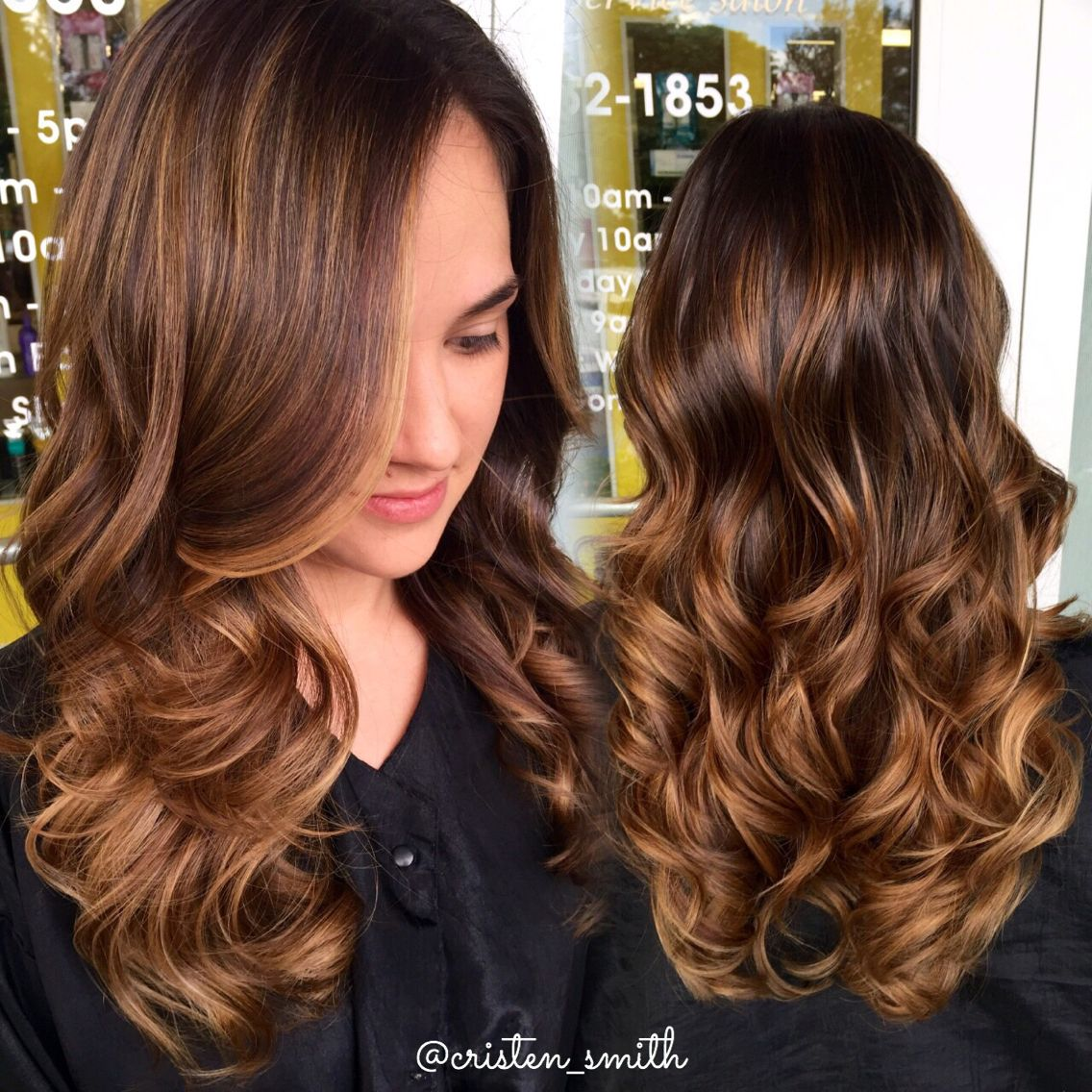 caramel honey highlights hair in 2019 hair balayage. Black Bedroom Furniture Sets. Home Design Ideas