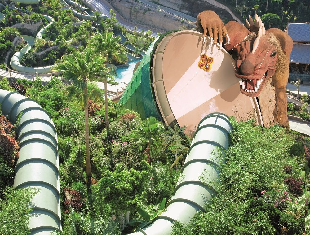 Siam Park für Adrenalinjunkies
