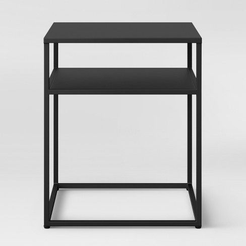 Glasgow Metal End Table Black Project 62 Metal End Tables