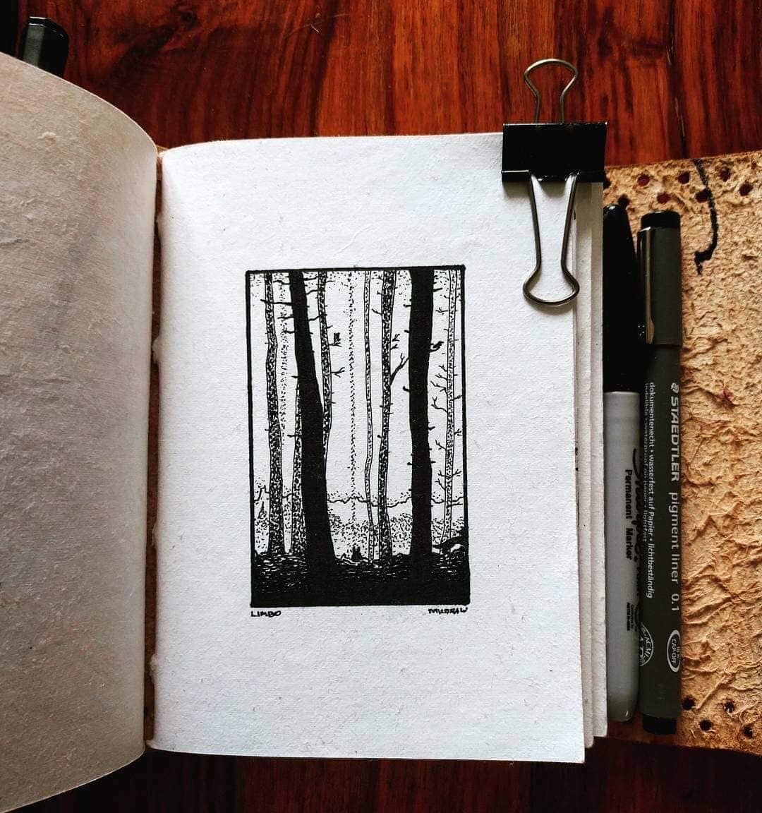 🌲 • •• ••• •••• #doodle #art #illustrator #illustration #sketch #sketchbook #instaart #drawing #blackworkers #draw #bw #artpostdaily #dailydrawoff #blackworkers #ink #dotwork #lineworktattoo #tattoo #illustrative #iblackwork #mountainart #рисунок #trees #sharpie #sketching #comics #darkness #woods #limbo #onedrawingaday