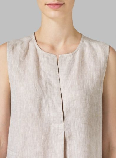 93407559 MISSY Clothing - Linen Surplice V-Neck Blouse | OUTFIT in 2018 ...