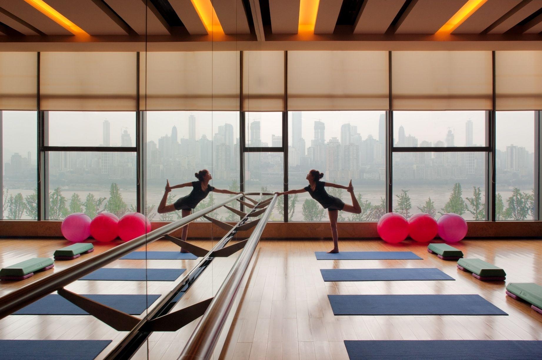 Yoga Room At Radisson Blu Plaza Chongqing  China