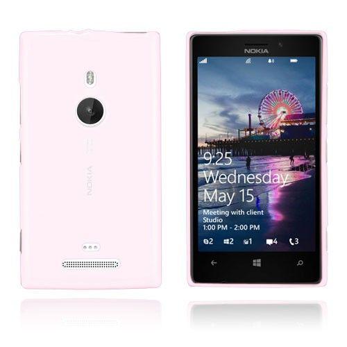 GelCase (Pinkki) Nokia Lumia 925 Suojakotelo
