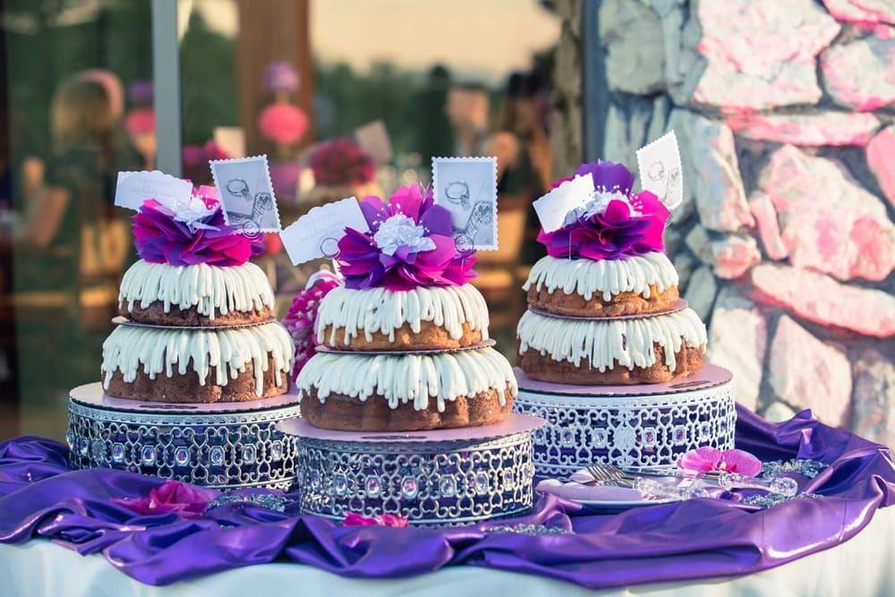 Image result for nothing bundt cakes wedding Nothing