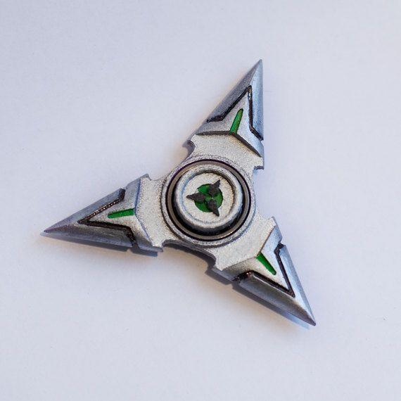 Overwatch Inspired Genji Shuriken Fidget Hand Spinner