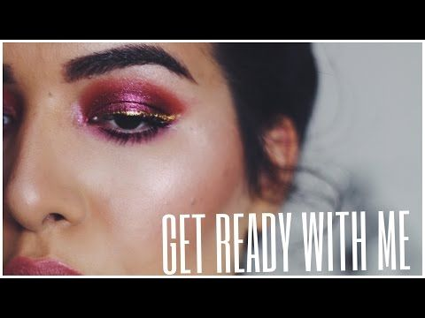 Cranberry Metallic | GET READY WITH ME - YouTube