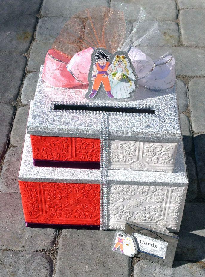 Sailor Moon Wedding Card Box,sailor moon,sailor moon