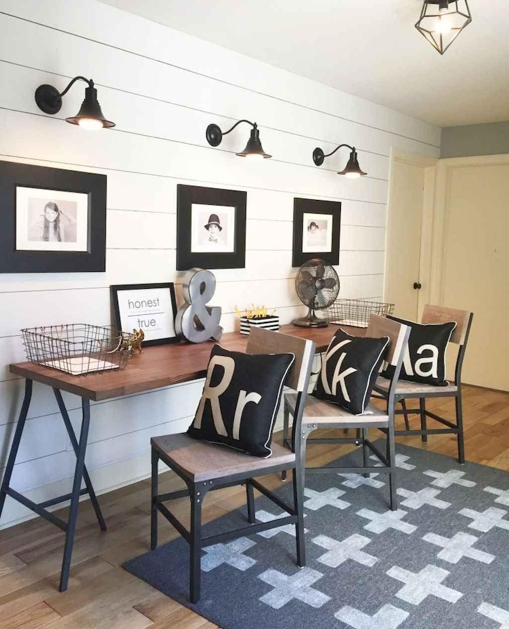 Awe Inspiring 40 Easy Diy Farmhouse Desk Decor Ideas On A Budget 8 In Home Interior And Landscaping Eliaenasavecom