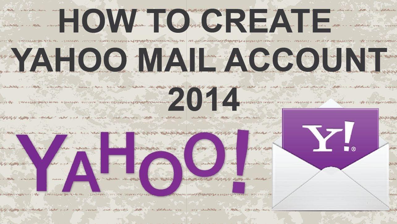 How to make Yahoo Mail account 2014