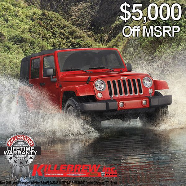 Jeep Season Is Here And Killebrew Dodge Chrysler Jeep Ram Has