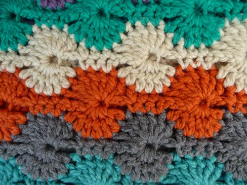 Free Pattern For Soft Catherine Wheel Throw Crochet Pinterest