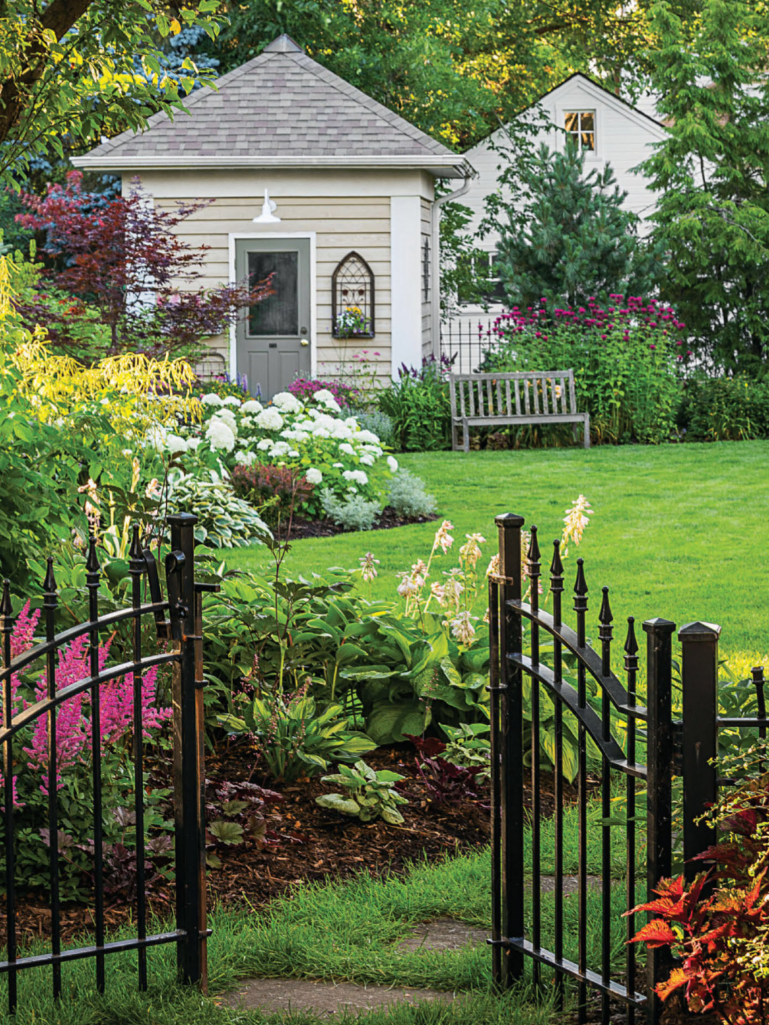 Home vegetable garden design  Pretty garden escape  Gardens u Outside  Pinterest  Gardens