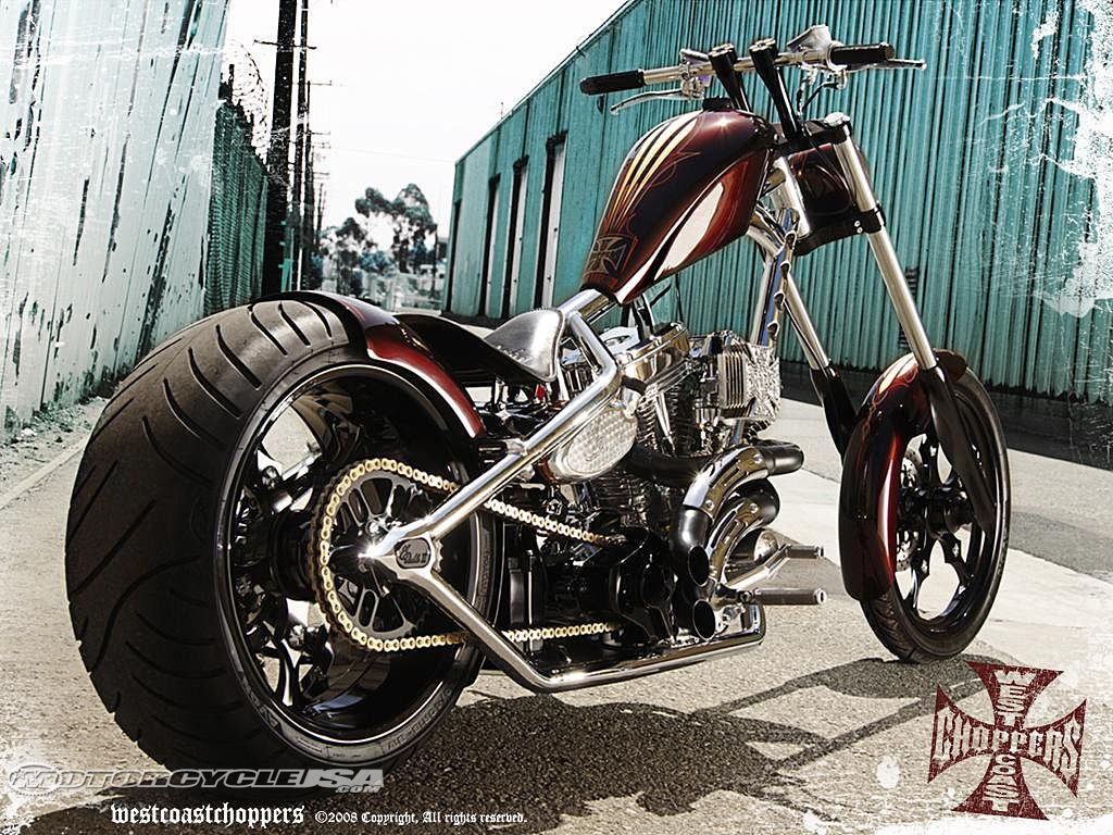 Custom Motorcycles Want Something Sporting West Coast