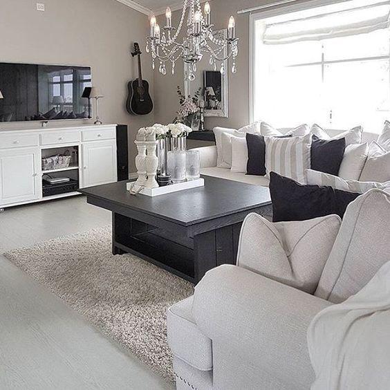 ♡ ᒪOᑌIᔕE ♡ Living room Pinterest Living rooms, Room and House