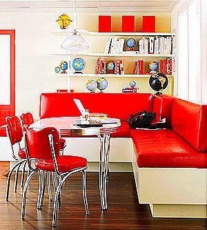 Rtro Banquette Home Pinterest