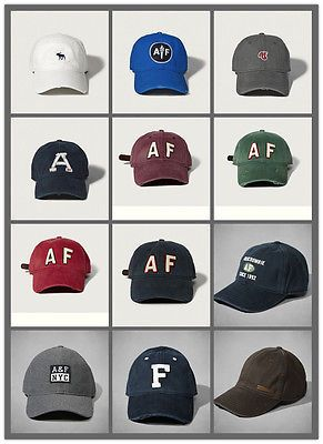 Nwt abercrombie  amp   fitch mens by hollister  classic  baseball cap af new c3ab50f9c43