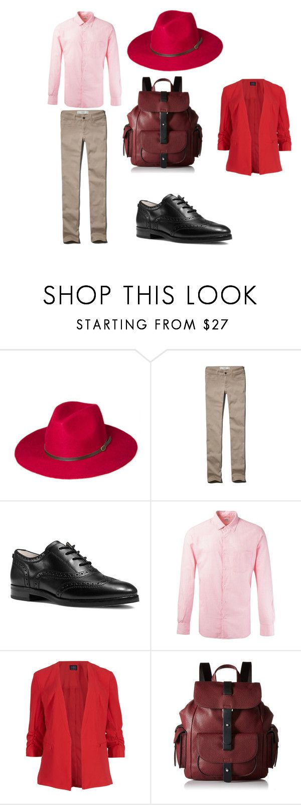 """""""Valentine's Love: #2"""" by indigofudge on Polyvore featuring Abercrombie & Fitch, MICHAEL Michael Kors, Aspesi, M&S Collection, Kenneth Cole Reaction, women's clothing, women's fashion, women, female and woman"""