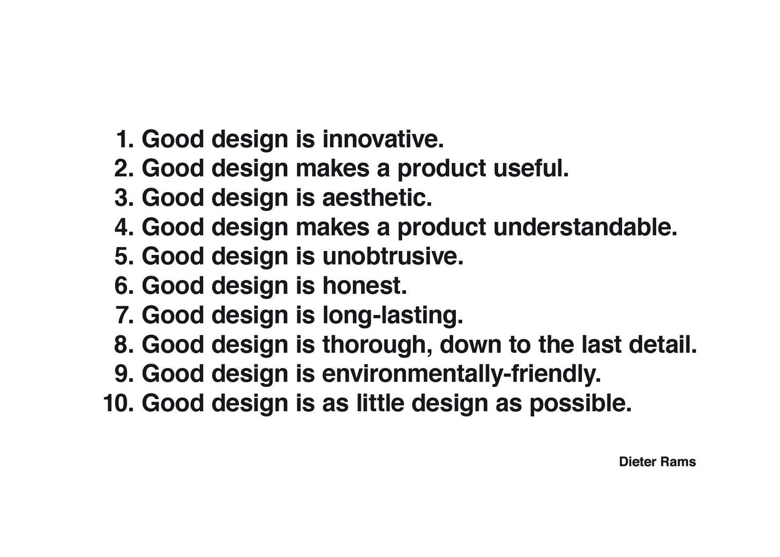 10 principles of good design by dieter rams quotes that 10 principles of good design by dieter rams